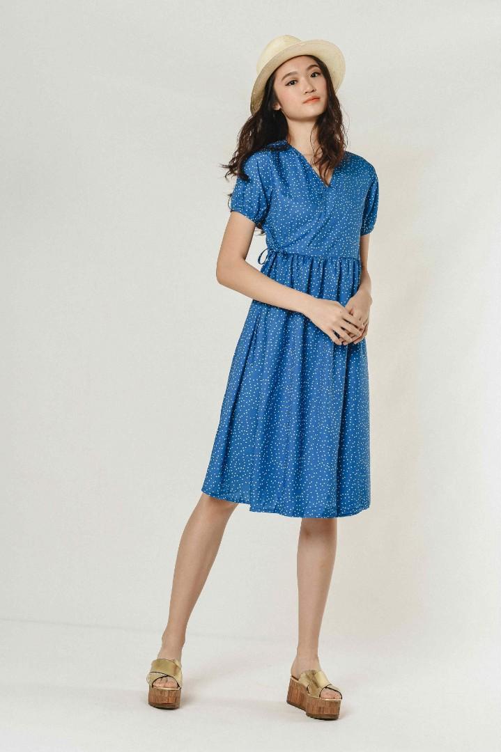 5628d59980d6f Vienna Polka Dress, Women's Fashion, Clothes, Dresses & Skirts on ...