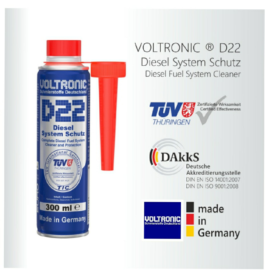 26eb0d49 VOLTRONIC ® D22 Diesel Fuel Injectors Cleaner. Made In Germany ...