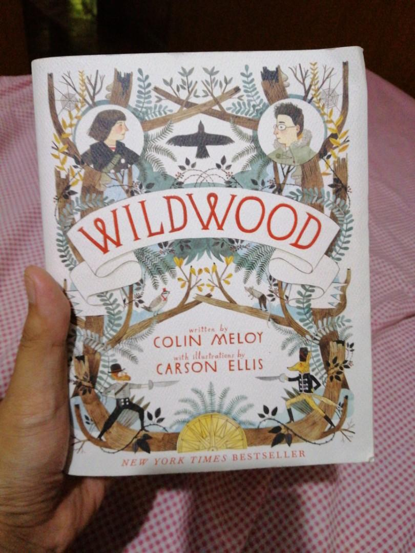 Wildwood by Colin Meloy with illustrations by Carson Ellis