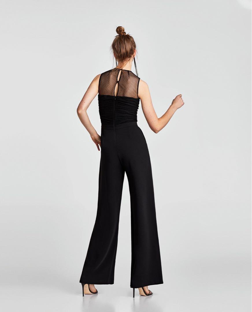 ZARA Black Jumpsuit