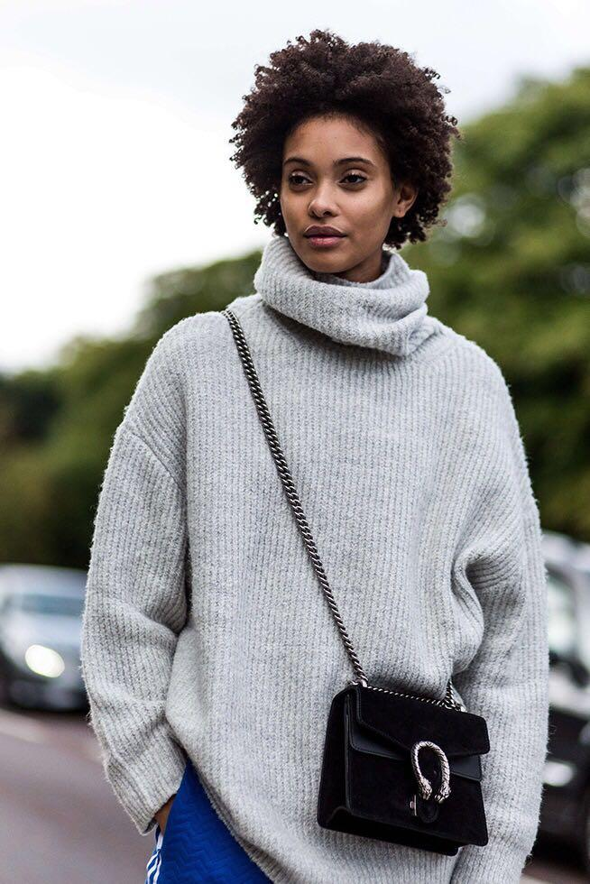 ZARA Oversized Roll Neck Sweater
