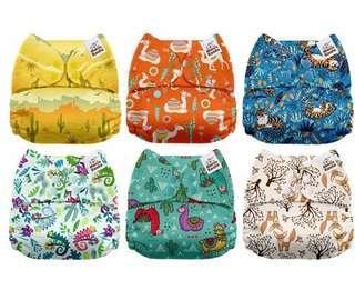 環保布尿布 cloth diaper 預訂款