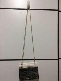 Jelly box bag 黑色蕾絲lace 手袋盒