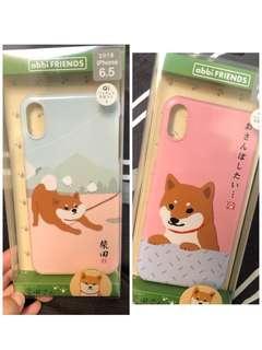 🚚 全新-有2款-日本帶回apple XS max柴犬手機殼