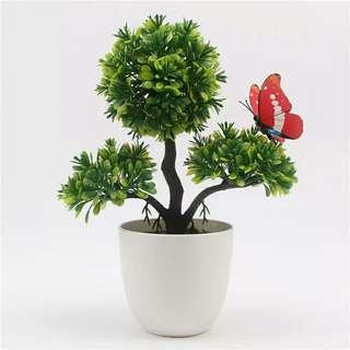 🚚 Artificial Plants Bonsai Small Tree Pot Plants Fake Flowers Potted Ornaments For Home Decoration Hotel Garden Decor