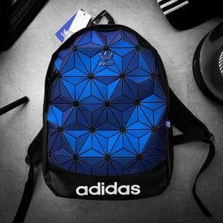 🚚 Adidas背包,包包,鑽石,反光,三葉草