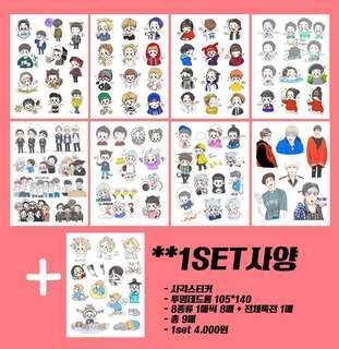 WTB EXO Xiumin Ordinary_sanha stickers