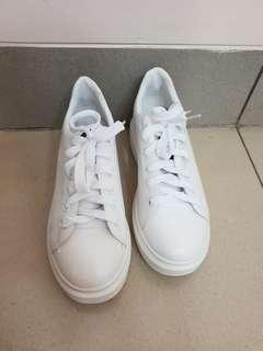 Korean White Sneakers