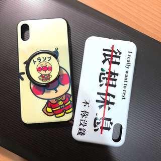 🚚 iPhone X 手機殼 軟殼 伸縮氣囊款