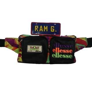 Vintage Embroidered Ellesse Belt Bag