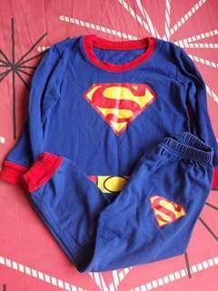 Superman Sleepwear 4T