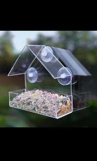 Bird Feeder Window Acrylic