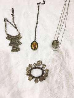 Vintage Necklaces & Bracelet | Kalung & Gelang Vintage