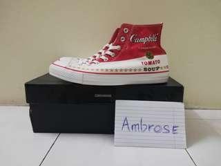 Converse x Andy Warhol Chuck taylor