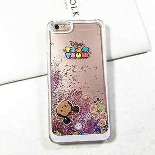 IPhone 6 Liquid Glitter Moving Case
