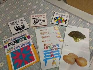 🚚 0-12 monrhs baby training flash cards