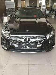Mercedes benz E-CLASS COUPE 300 AMG LINE 2018
