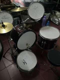 Drum Set kecik