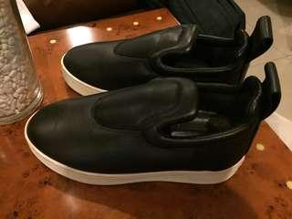 Celine leather Pull on sneakers (black)