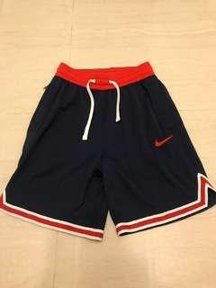 Nike 紅藍色 籃球褲 M號