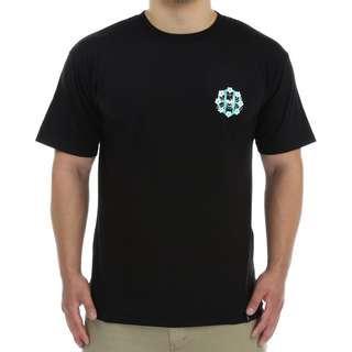 全新huf killer circle h tee Size S M black 黑色 T-shirt