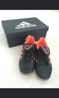 新淨 Adidas Copa 17.4 IN 足球平底鞋 size 42.5