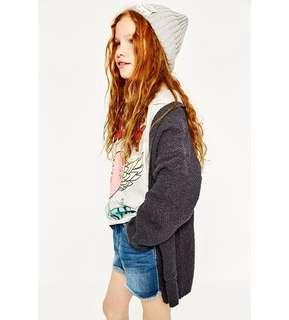 🚚 Zara 女童13-14 164cm 針織外套