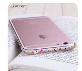 蘋果6S iphone 6s 金屬邊框 精美 粉紅