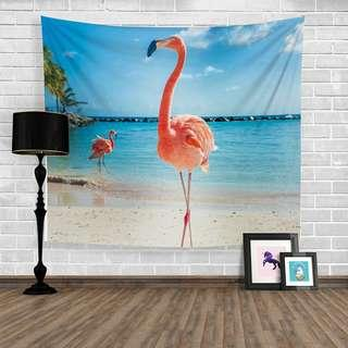 Tapestry Flamingo