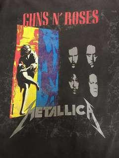 metallica guns and roses