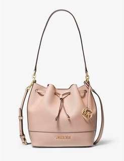 💯 Brand new full set Michael Kors Trista bucket bag