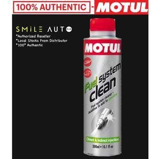 Motul Fuel System Clean Auto & Motul Engine Clean Auto (Please Chat For Promo)