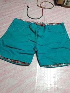 Blue short