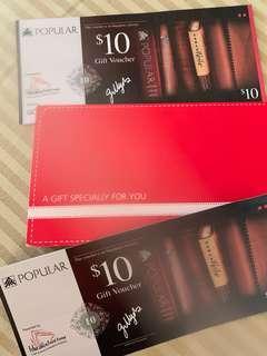 $100 Popular Gift Voucher