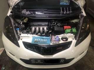 Honda JazzFit Rs 1.5 performance Sparks Plugs