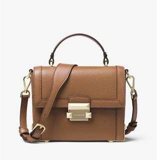 BN 💯 Authentic with receipt Michael Kors Jayne trunk bag crossbody bag