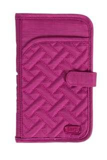 Lug Tandem Wallet - Brushed Orchid