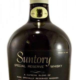 Suntory Special Reserve Whisky * 12 誠徵長期合作商.