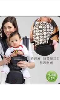 (cheapest!!) Sinbii Hipseat Carrier -- Deluxe Pocket with Double Hugstrap   (Korean brand with storage!)