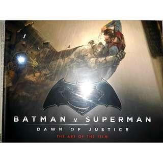 The Art of Batman vs Superman BVS