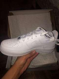 BRAND NEW WHITE AIR FORCES