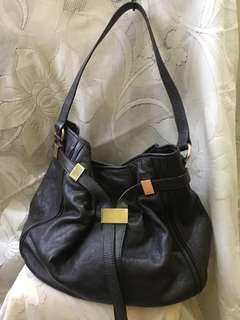 Double M (Milano) hobo shoulder bag