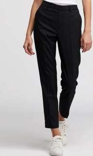Uniqlo Smart Style Ankle Pants Black