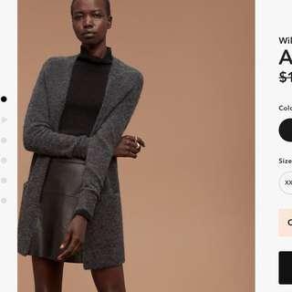 Aritzia Wilfred Free Aronson Sweater- S