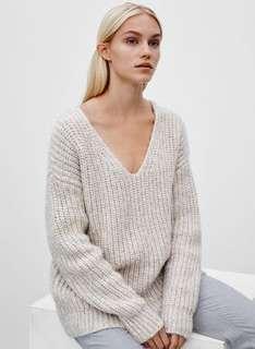 Aritzia Oversized Italian Wool Sweater- XS