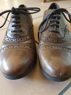 Born leather lace ups