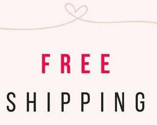 FREE SHIPPING!!! (AVAILABLE TILL 20TH OF MARCH!!)