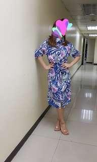Floral stylish dress