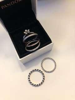 Pandora rings size 56