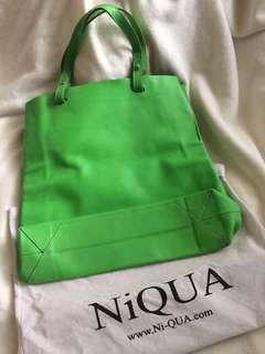 Niqua Leather Tote Bag (100% Genuine Leather)